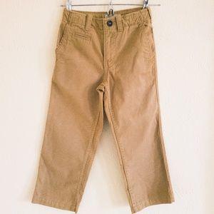 Boy's Gap Straight Fit Adjustable Khaki Pants 6